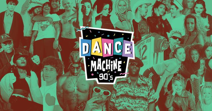 Soirée Dance Machine années 90 la Plateforme Lyon