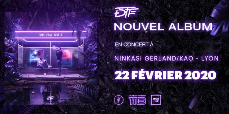 DTF en concert au Ninkai Gerlan / Kao Lyon 2020.