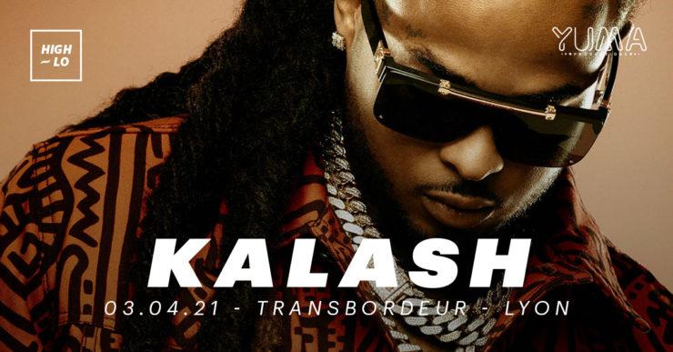 Kalash en concert à Lyon Transbordeur le 3 avril 2021. High-lo rap.