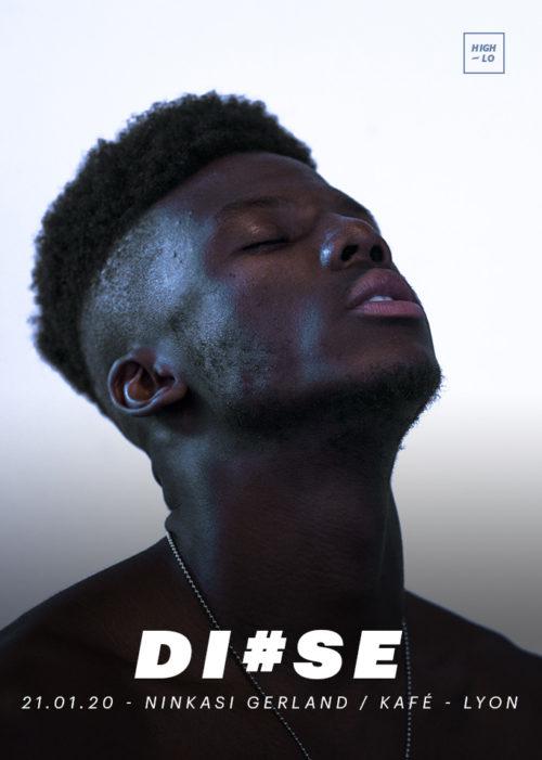 DI#SE en concert rap au Ninkasi Gerland Kafé Lyon High-lo