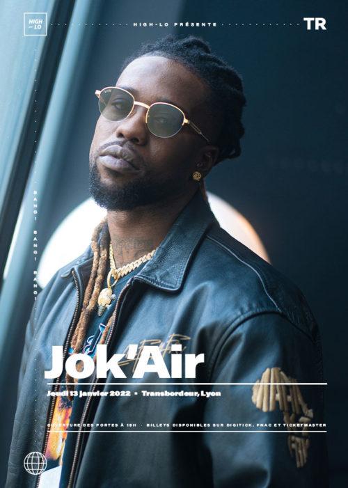 Jok'Air en concert à Lyon Transbordeur Villeurbanne 13 janvier 2022 High-lo Rap Rappeur totaal rez