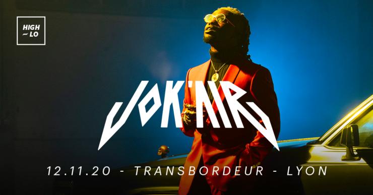 Jok'air en concert au Transbordeur Lyon. Novembre 2020. High-lo rap