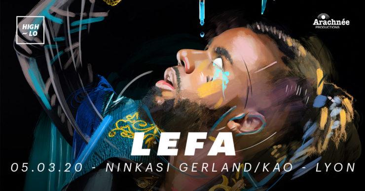Lefa concert rap lyon