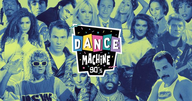 Soirée années 90's Dance Machine 90's à La Platefoeme Lyon. Janvier 2020