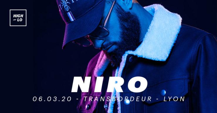 Niro en concert au Transbordeur Lyon. High-lo rap