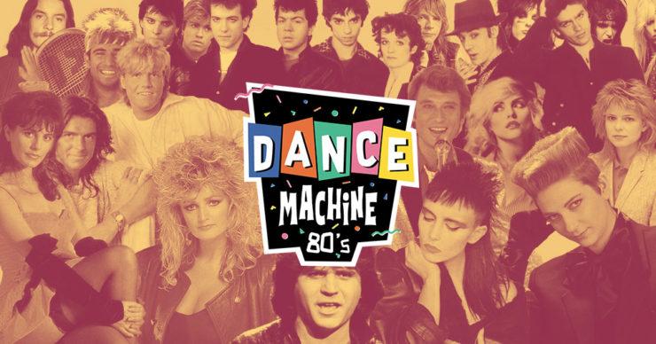 Soirée Dance Machine 80(s edition à la Plateforme, Lyon. 8 fevrier 2020, années 80