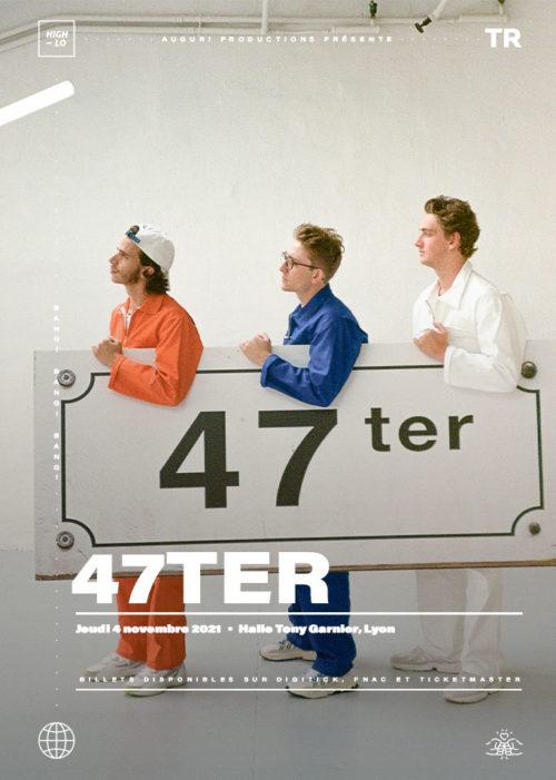 47TER en concert à Lyon Halle Tony Garnier. High-lo rap Totaal Rez 2021