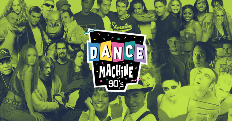 Soirée Dance Machine 90's années 90 à La Plateforme Lyon.