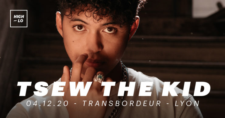 Tsew the Kid en concert à Lyon Transbordeur le 4 décembre 2020. High-lo