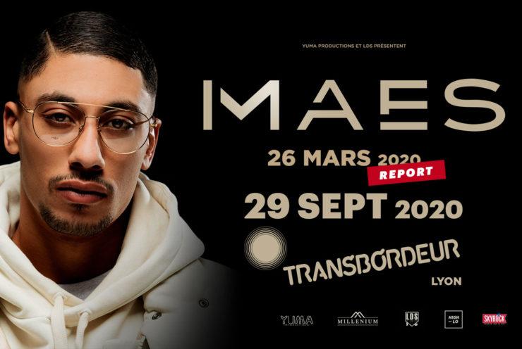 Maes en concert à Lyon