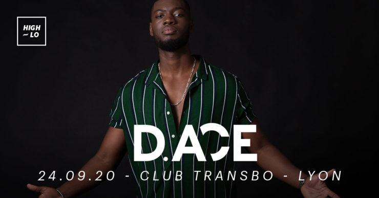 D.ACE en concert au Club Transbo Lyon, septelbre 2020, rap High-lo Totaal Rez