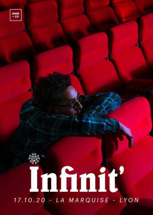 Infinit' en concert à Lyon la marquise octobre 2020 High-lo rap Totaal rez