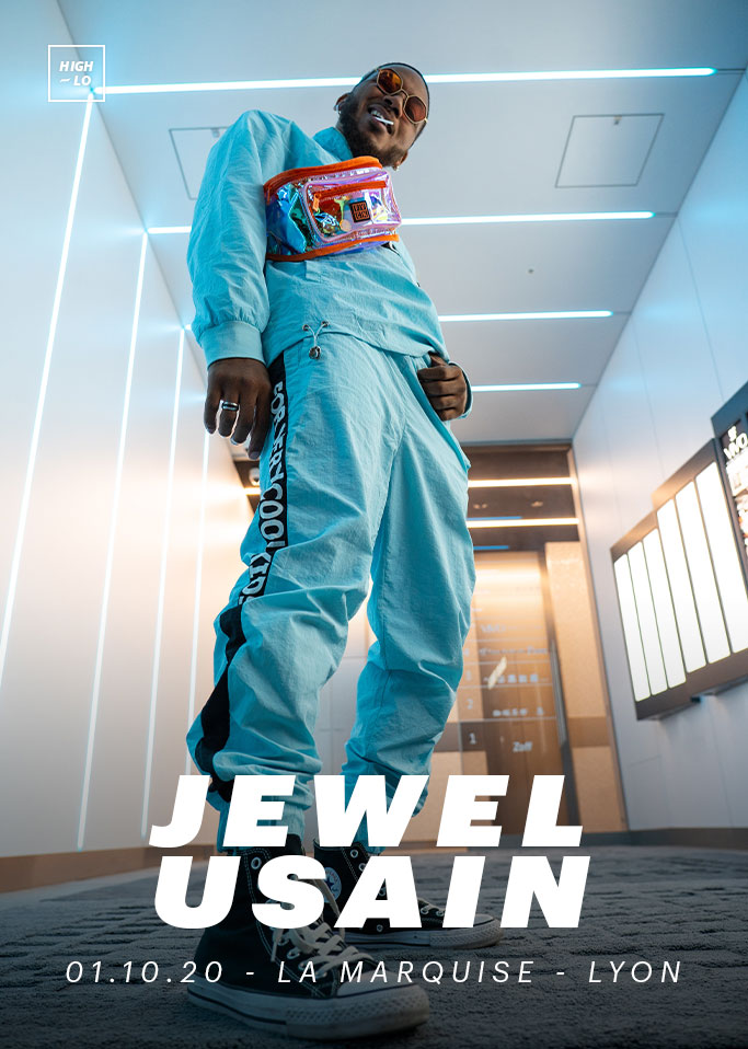 Jewel Usain concert Lyon La Marquise octobre 2020 rap rappeur Totaal Rez