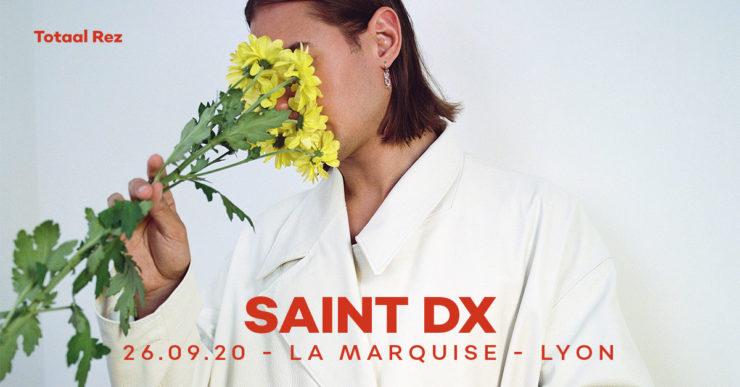 Saint DX en concert à Lyon la Marquise septembre 2020 totaal rez