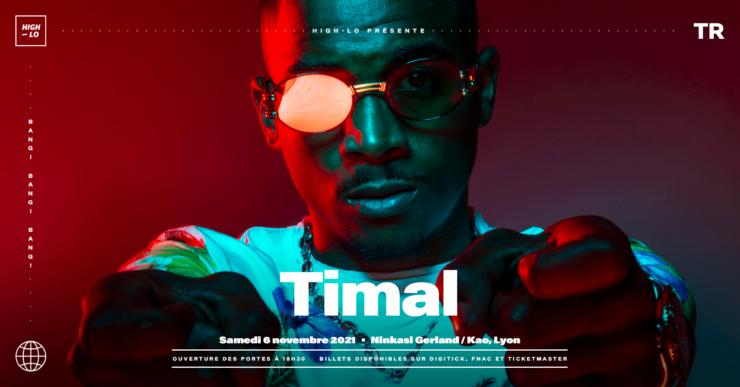 Timal concert Lyon Ninkasi Gerland / Kao 2021, High-lo rap rappeur Totaal Rez