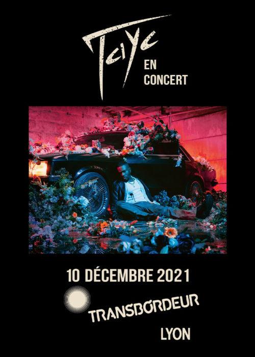 Tayc en concert à Lyon décembre 2021. High-lo Totaal Rez Transbordeur