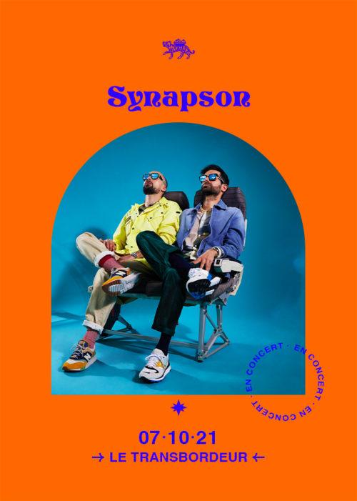 Synapson concert Lyon Transbordeur 2021 Totaal Rez Le Bazar