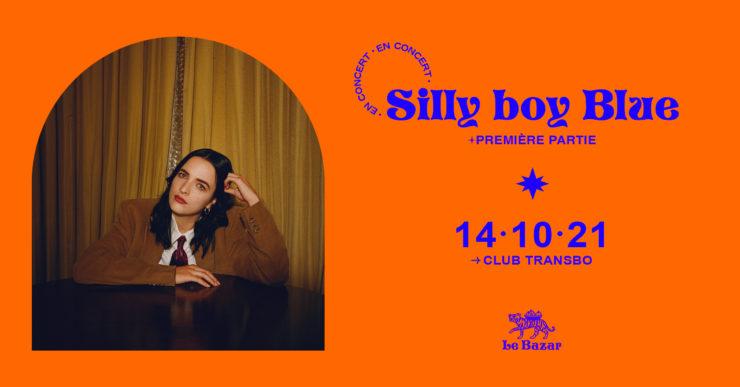 Silly Boy Blue en concert à Lyon. Club Transbo Le Bazar