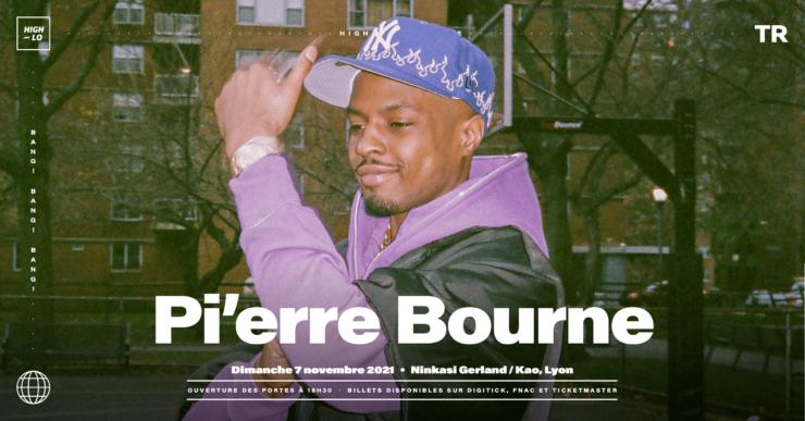 Pi'erre Bourne concert Ninkasi Gerland / kao Lyon 7 novembre 2021 High-lo rap Totaal Rez