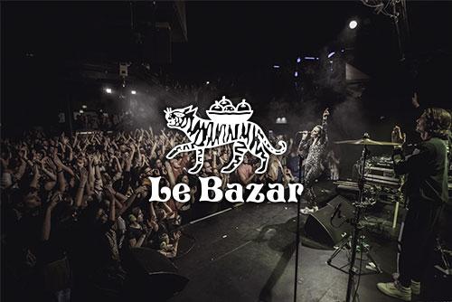 Le Bazar Lyon organisation concerts chanson pop musique électronique Totaal Rez