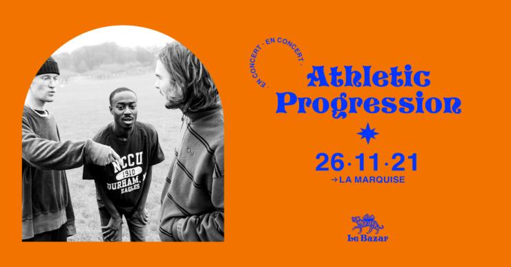 Athletic Progression en concert à Lyon La Marquise. Novembre 2021. Totaal Rez Le Bazar