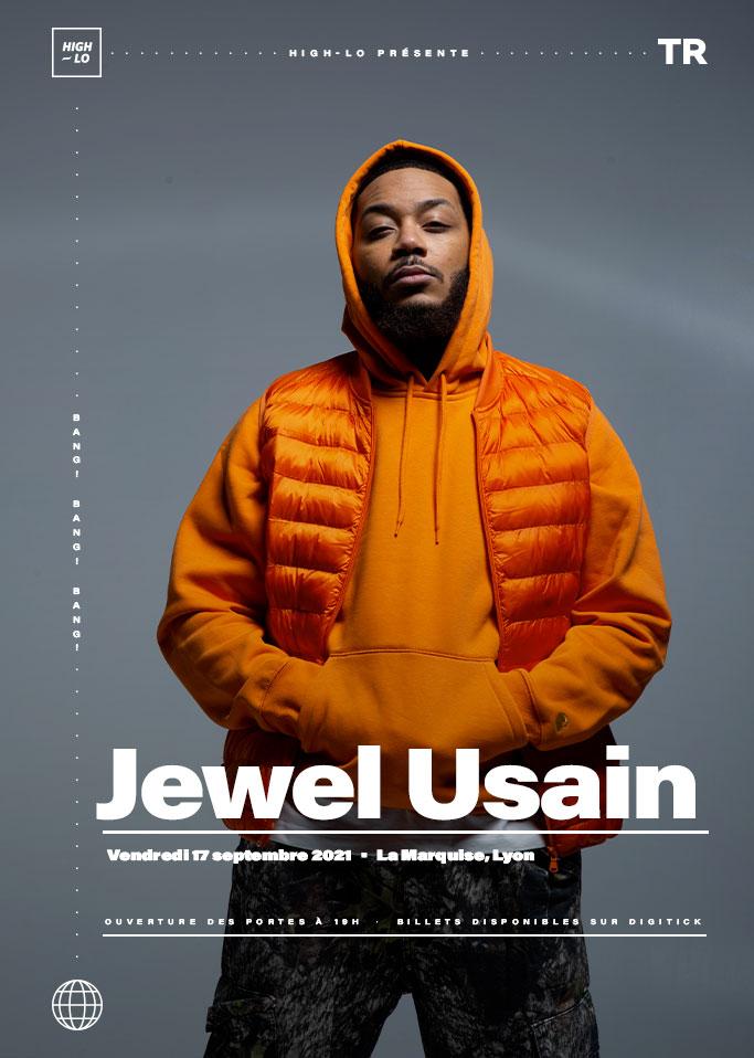 Jewel Usain en concert à la Marquise Lyon. High-lo rap Totaal Rez