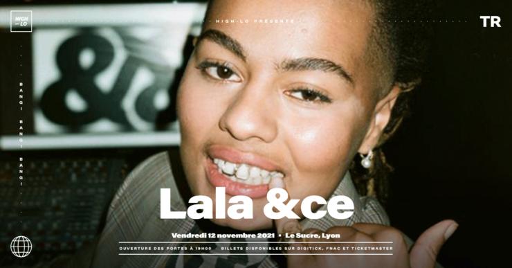Lala &ce concert Lyon Le Sucre 12 novembre 2021 High-lo rap rappeuse Totaal Rez