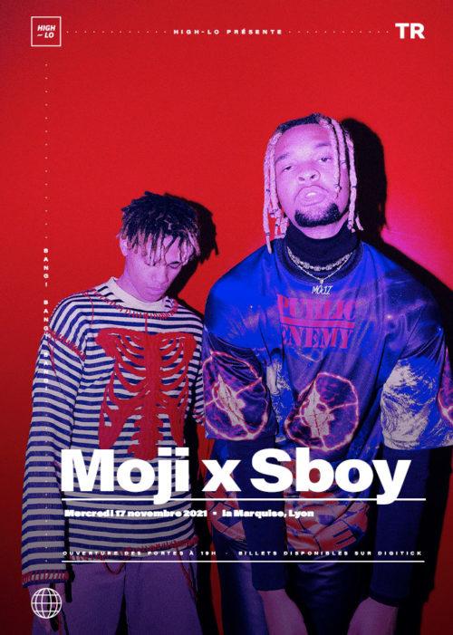 Moji x Sboy concert Lyon La Marquise 2021 Totaal Rez High-lo