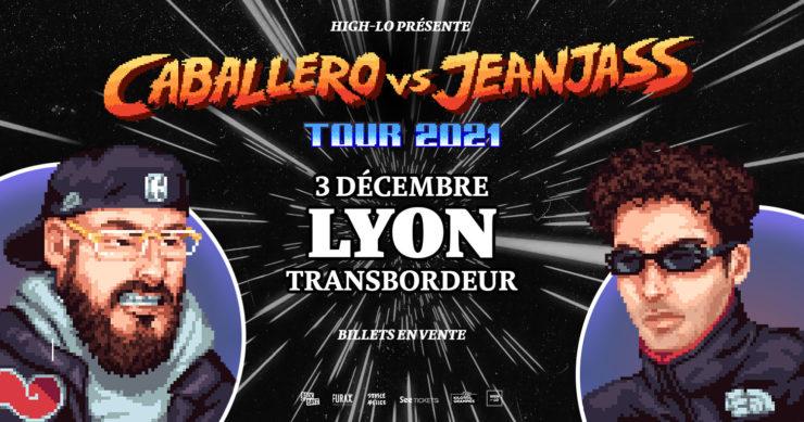 Caballero & JeanJass en concert à Lyon Transbordeur décembre 2021 High-lo rap rappeur Totaal Rez
