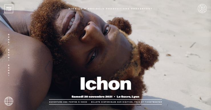 Ichon en concert à Lyon au Sucre. High-lo Totaal Rez