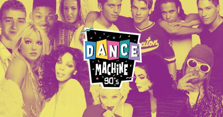 Soirée années 90 Lyon Modjo Dance Machine vendredi 10 septembre 2021
