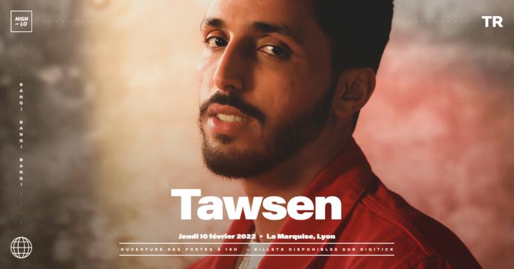 Tawsen concert Lyon Marquise 2022 High-lo rap rappeur Totaal Rez