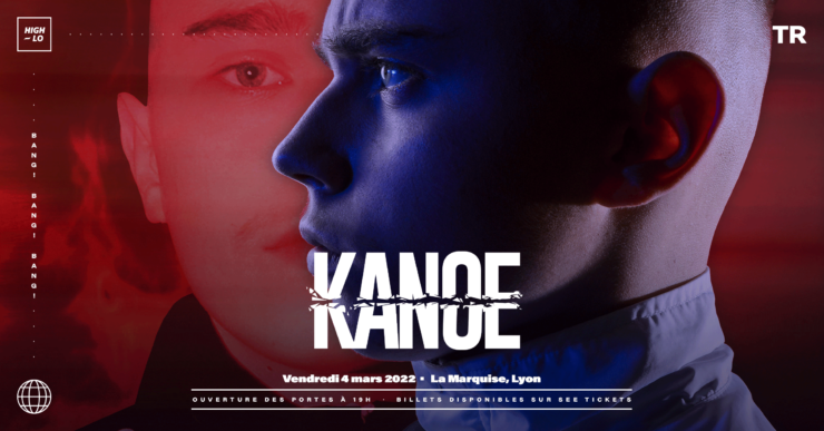 Kanoe en concert à la Marquise Lyon mars 2022 High-lo rap rappeur Totaal Rez