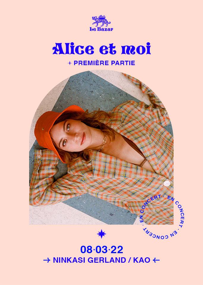 Alice et moi en concert à Lyon Ninkasi Kao 2022